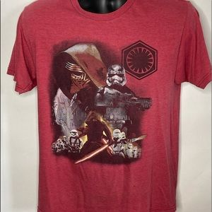Star Wars T Shirt Imperfection Sz Medium